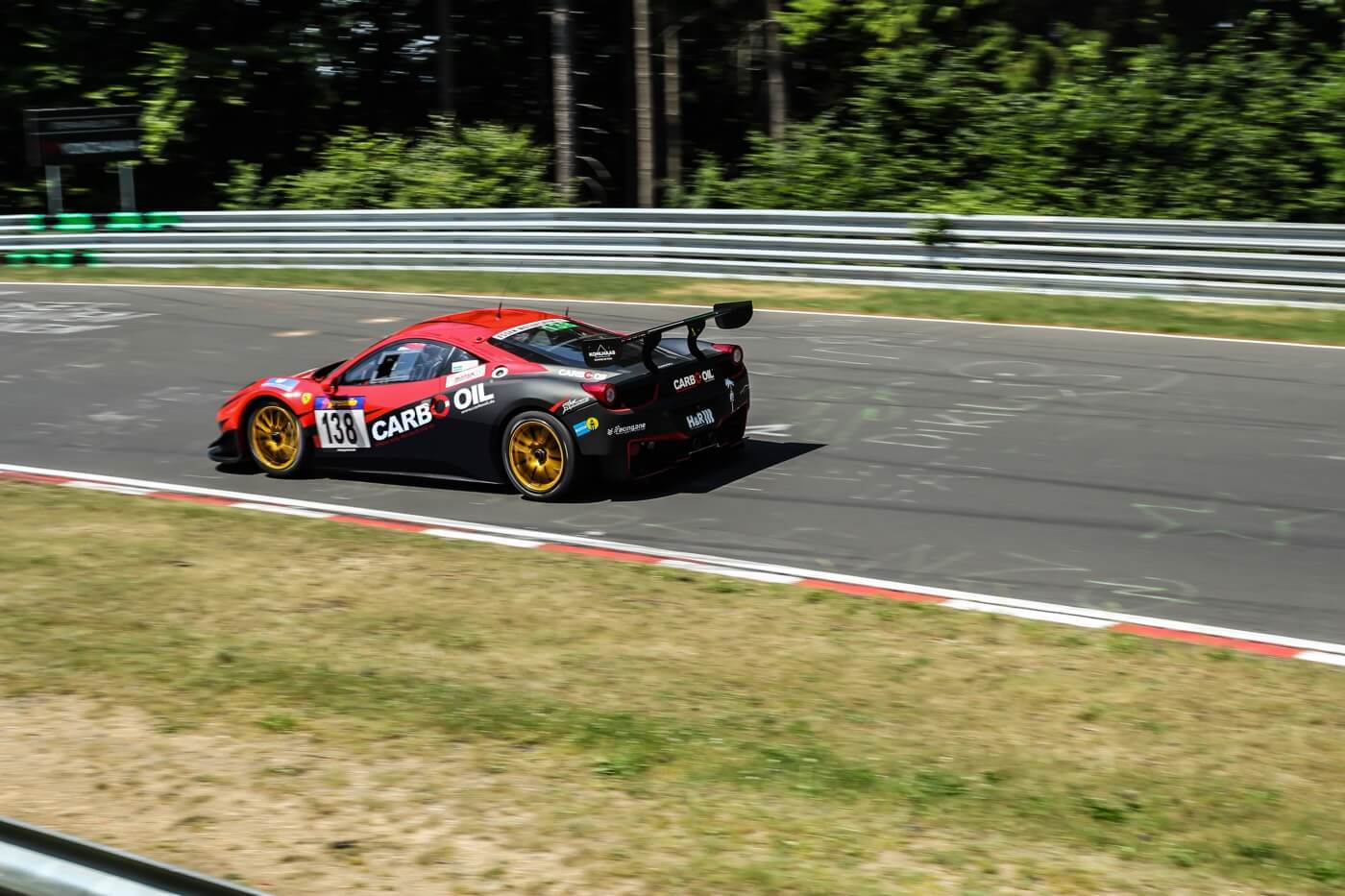 Carbo Oil Ferrari 458 VLN 2