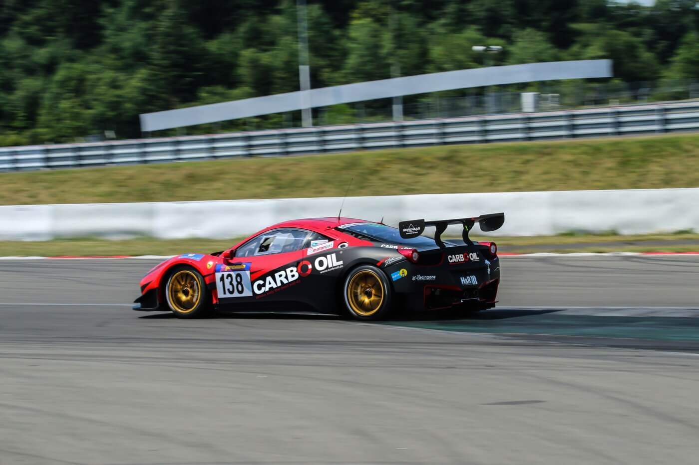 Carbo Oil Ferrari 458 VLN