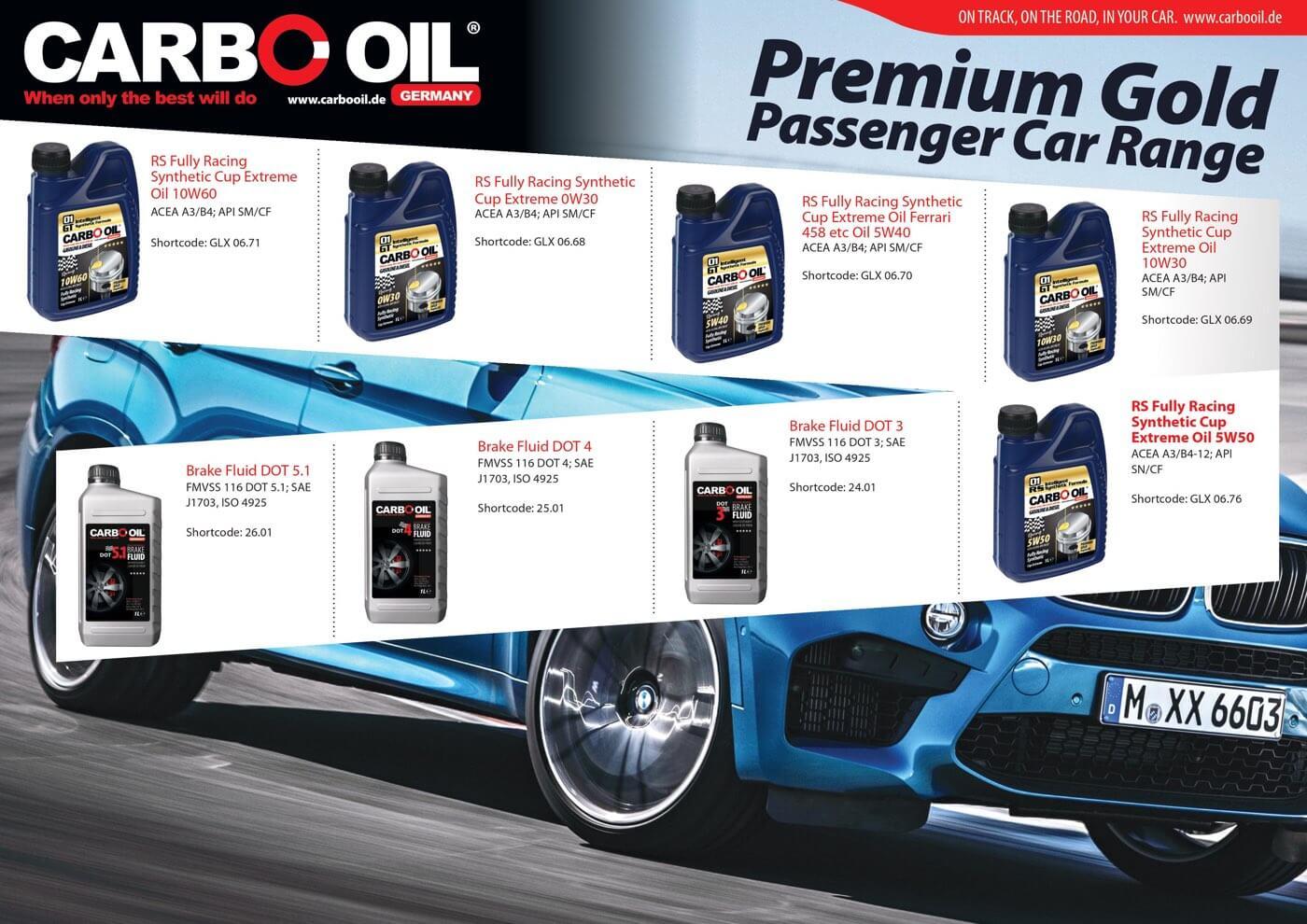 carbo oil premium gold range 5